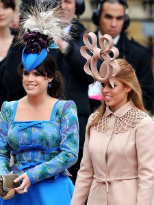 Eugenie and Beatrice